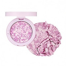 [The face shop] Marble Beam Blush & Highlighter #03 (Love Purple)