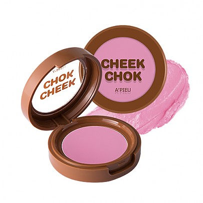 [A'PIEU] Creamy Cheek-Chok Blusher #VL01 (Blueberry)