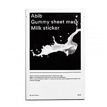 [Abib] Gummy Sheet mascarilla Milk Sticker 1ea