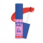 [Holika Holika] Lipconic tinte labial Magma #07 (Peach Pop) - Glossy Play Edition
