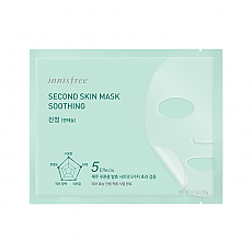 [Innisfree] Second Skin mascarilla Soothing