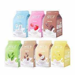 [A'PIEU] Un paquete de leche 7pcs