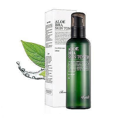 [Benton] Aloe BHA Skin Toner 200ml (Skin Soothing, Exfoliation, Pore Control)