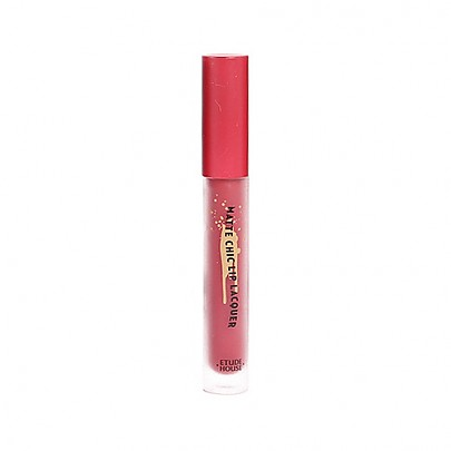 [Etude house] Matte Chic Lip Lacquer #BR401 (Wendy Brown)