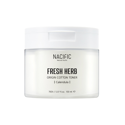[Nacific] Fresh Herb Origin Cotton tónico 150ml (Calendula)