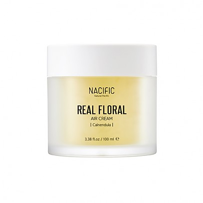 [Nacific] Real Floral Air Cream 100ml (Calendula)