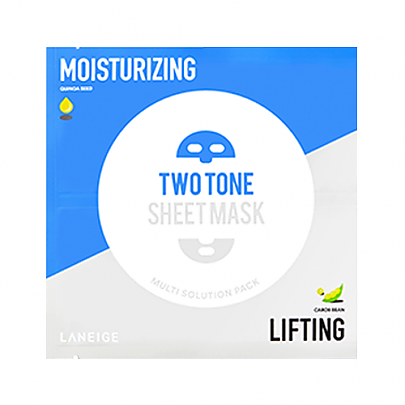 [Laneige] Two Tone Sheet mascarilla (Moisturizing & Lifting)