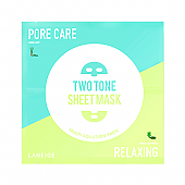 [Laneige] Two Tone Sheet mascarilla (Pore Care & Relaxing)