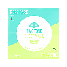 [Laneige] Two Tone Sheet Mask (Pore Care & Relaxing)