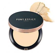 [MEMEBOX] PONY EFFECT Cover Fit Compacto de la base SPF40 PA+++ (Nude Beige)
