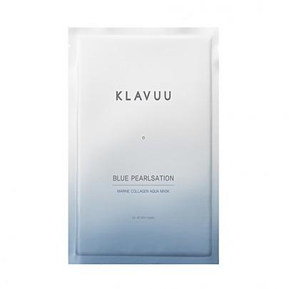[Klavuu] BLUE PEARLSATION Marine Colágeno Aqua Mascarilla de hoja