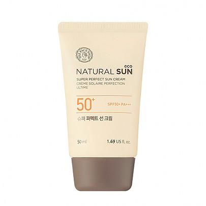 [The face shop] Naturalsun Eco Super Perfect Sunblock 50ml