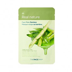 [The Face Shop] Real Nature mascarilla (Bamboo)