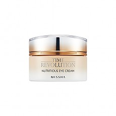 [Missha] Time Revolution Nutritious Eye Cream 25ml