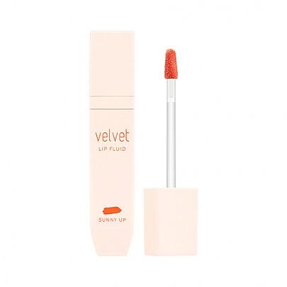 [Missha] Velvet Lip Fluid Tinte labial #CR01 (Sunny Up)