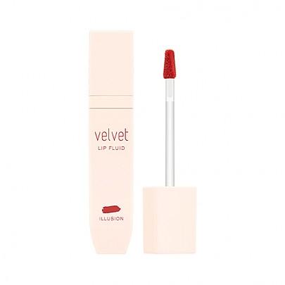 [Missha] Velvet Lip Fluid tinte labial #RD01 (Illusion)