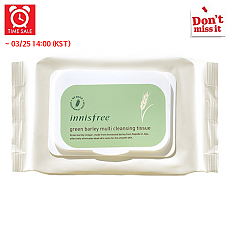 [Innisfree] *Time Deal*  Green Barley Cleansing Tissue