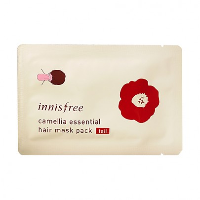 [Innisfree] Camellia Essential Hair Mask Pack 7g (Tail)