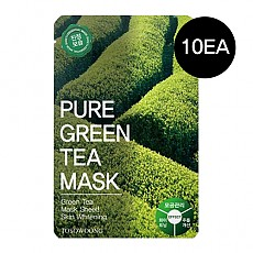 [Tosowoong] Pure Green Tea mascarilla 10pcs