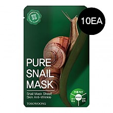 [Tosowoong] Pure Snail mascarilla 10pcs