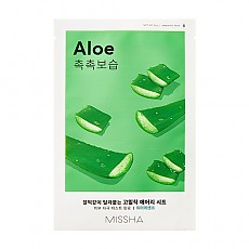 [Missha] AIry Fit Sheet mascarilla (Aloe)