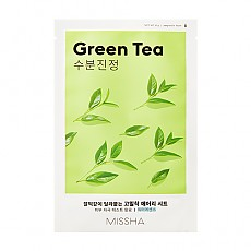 [Missha] AIry Fit Sheet mascarilla (Green Tea)