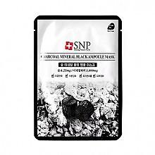 [SNP] Charcoal Mineral Black Ampoule mascarilla