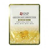 [SNP] Gold Collagen Ampoule mascarilla 25ml