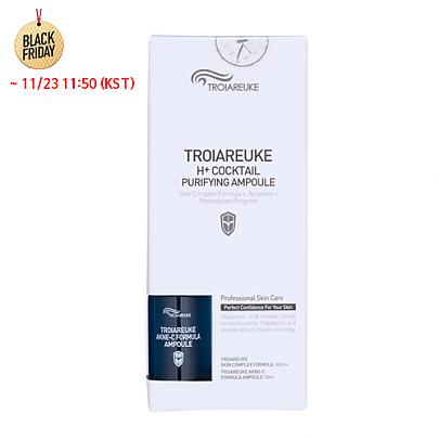 [TROIAREUKE] *Time Deal*  Healing Cocktail Skin Complex Formula 60ml + Ampule 10ml  #Blue (AKNE-C)