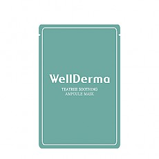 [WellDerma]Teatree Trouble Care Ampoule mascarilla (10hojas)