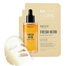 [Nacific] Fresh Herb Origins mascarilla Pack 1hoja