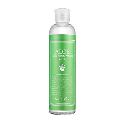 [SecretKey] Aloe Soothing Moist tonico 248ml