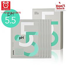 [Heimish] *Time Deal*  Baja pH Hidratante Mascarilla en hoja 27ml (5hojas)