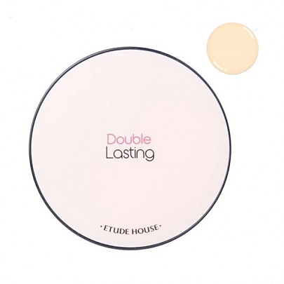 [Etude House] Double Lasting Cushion SPF34/PA++ #N03 Neutral Vanilla