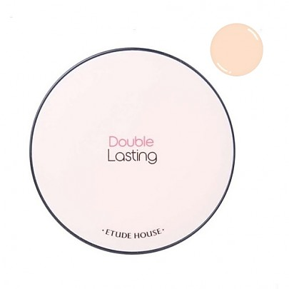 [Etude House] Double Lasting Cushion SPF34/PA++ #P03 Light Vanilla