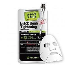 [Wellderma] Frijol negro Tightening Weekly Mascarilla increíble (10hojas)
