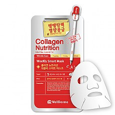 [Wellderma] Colágeno y nutrición Weekly Mascarilla increíble(10ea)