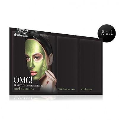 [double dare] OMG! Platinum Kit de mascarilla verde