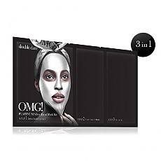 [double dare] OMG! Platinum Kit de mascarilla de plata