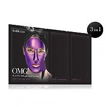 [double dare] OMG! Platinum Kit de mascarilla morada