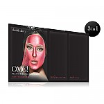 [double dare] OMG! PlatinumKit de mascarilla Hot pink