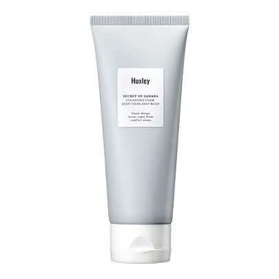 [Huxley] Cleansing Foam; Deep Clean, Deep Moist 100g