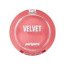 [Peripera] Pure Blushed Velvet Cheek 2018 Fall Colección Momento de rosa#07 (Cozy Creamy Rose)