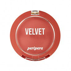 [Peripera] Pure Blushed Velvet Cheek 2018 Fall Colección Momento de rosa #08 (Appealing Dry Coral)