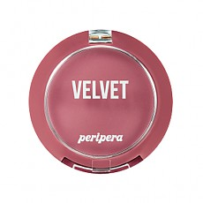 [Peripera] Pure Blushed Velvet Cheek 2018 Fall Colección Momento de Rosa #09 (Emotional Dry Lilac)