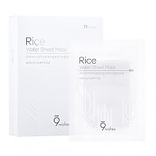 [9wishes] Mascarilla de agua de arroz (11hojas)