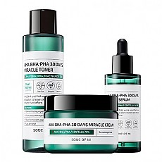 [SOME BY MI]  AHA BHA PHA 30 Days Miracle Tónico + Serum + Crema