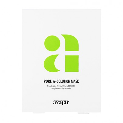 [Avajar] Pore A-Solution mascarilla 10hojas