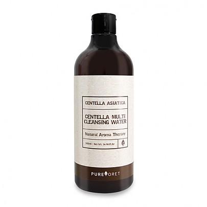 [Pureforet] Centella Multi Agua Desmaquillante 500ml