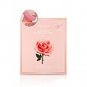 [JM Solution] Glow Luminous Flower Lift-Up V MASK Rose 10pcs